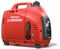 honda eu1000i portable generator photographed on white version 2