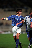 07.10.2000, Olympic Stadium, Athens, Greece. .FIFA World Cup Qualifying match, Greece v Finland. .Georgios Amanatidis - Greece.©Juha Tamminen