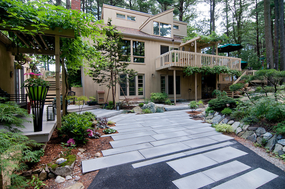 Private residence and landscaping.