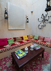 XVA hotel and art gallery in original historic Al Fahidi district , al Bastakiya , in Dubai, United Arab Emirates