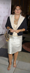 ALEXANDRA SHULMAN at the 2004 British Fashion Awards held at Thhe V&A museum, London on 2nd November 2004.<br />