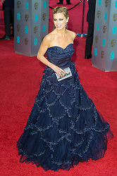 © Licensed to London News Pictures. 14/02/2016. London, UK. LAURA BAILEY arrives on the red carpet at the EE British Academy Film Awards 2016 Photo credit: Ray Tang/LNP