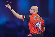 Micky Mansell during the PDC William Hill World Darts Championship at Alexandra Palace, London, United Kingdom on 17 December 2019.