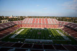 Nov 12, 2011; Stanford CA, USA;  General view of Stanford Stadium before the game between the Stanford Cardinal and the Oregon Ducks.  Oregon defeated Stanford 53-30. Mandatory Credit: Jason O. Watson-US PRESSWIRE