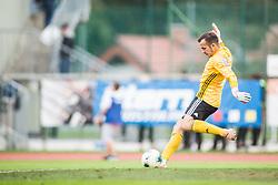 Football match between NK KRANJ TRIGLAV  and NK OLIMPIJA in 13th Round of Prva liga Telekom Slovenije 2019/20, on October 6, 2019 in Sports park, Kranj, Slovenia.. Photo by Peter Podonik / Sportida