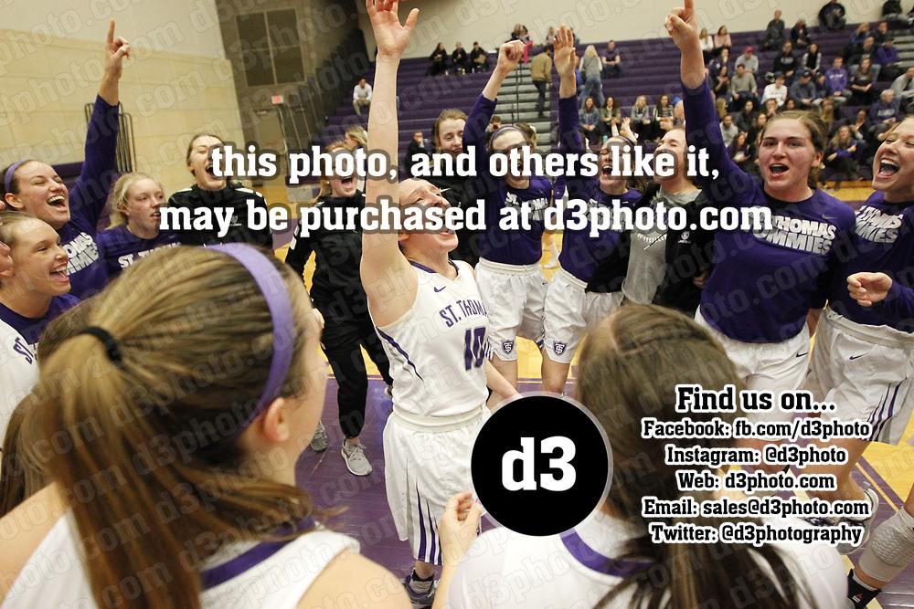 Women's Basketball: University of St. Thomas (Minnesota) Tommies vs. Amherst College Mammouths