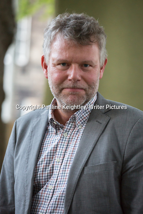 Arne Dahl, Swedish novelist and literary critic, gave a talk on his book Top of the Mountain, at Edinburgh International Book festival 2014. 19th August 2014<br /> <br /> Pic by Pauline Keightley/Writer Pictures