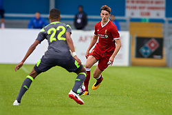 NUNEATON, ENGLAND - Sunday, July 30, 2017: Liverpool's Conor Masterson during a pre-season friendly between Liverpool and PSV Eindhoven at the Liberty Way Stadium. (Pic by Paul Greenwood/Propaganda)