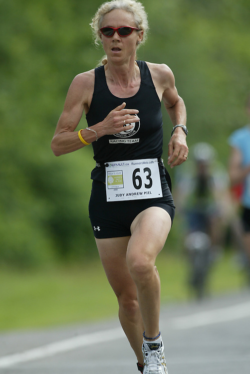 (Ottawa, Ontario---20/06/09)    JUDY ANDREW PIEL competing in the 2009 edition of Emilie's Run 5km race for women in Ottawa. Copyright photograph Sean Burges / Mundo Sport Images, 2009. www.mundosportimages.com / www.msievents.