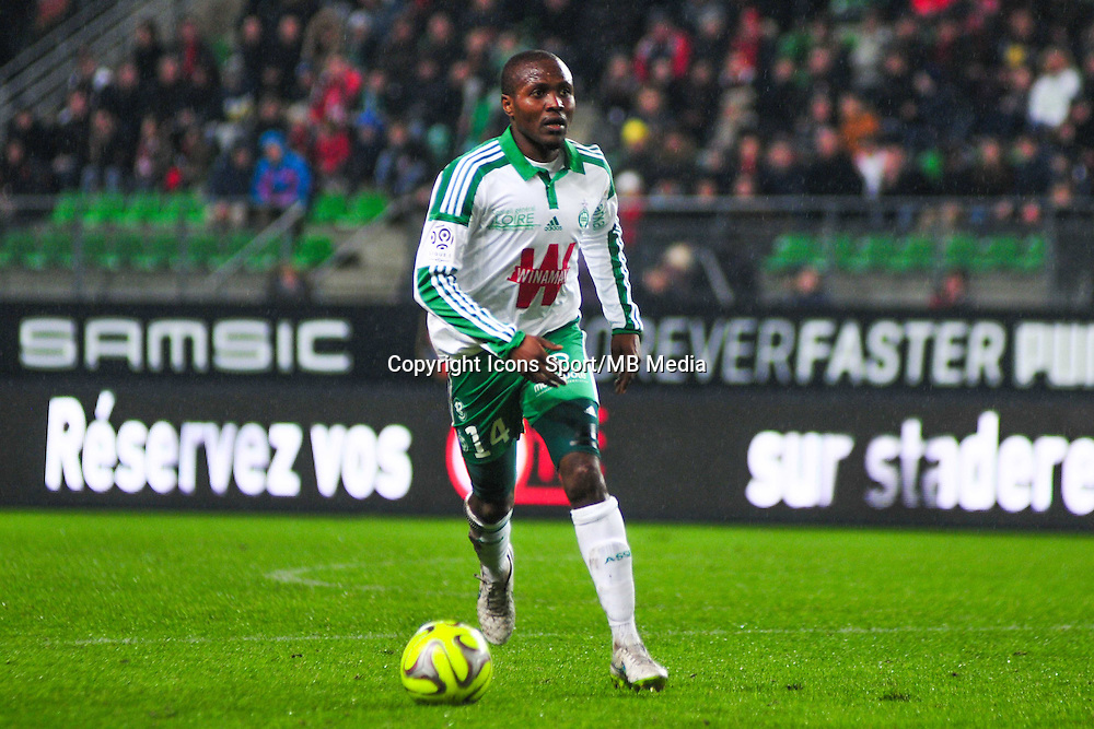 Landry Tsafack Nguemo  - 18.01.2015 - Rennes / Saint Etienne - 21eme journee de Ligue 1 - <br /> Photo : Philippe Le Brech / Icon Sport