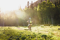 Summer evenings in the Wasatch with Macky Franklin.