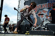 Fun. performing at The Bamboozle in East Rutherford, New Jersey. May 2, 2010. Copyright © 2010 Matt Eisman. All Rights Reserved.