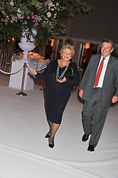 DAME VIVIEN DUFFIELD at a dinner hosted by Cartier following the following the opening of the Chelsea Flower Show 2012 held at Battersea Power Station, London on 21st May 2012.