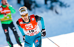 29.01.2017, Casino Arena, Seefeld, AUT, FIS Weltcup Nordische Kombination, Seefeld Triple, Langlauf, im Bild Maxime Laheurte (FRA) // Maxime Laheurte of France during Cross Country Gundersen Race of the FIS Nordic Combined World Cup Seefeld Triple at the Casino Arena in Seefeld, Austria on 2017/01/29. EXPA Pictures © 2017, PhotoCredit: EXPA/ JFK