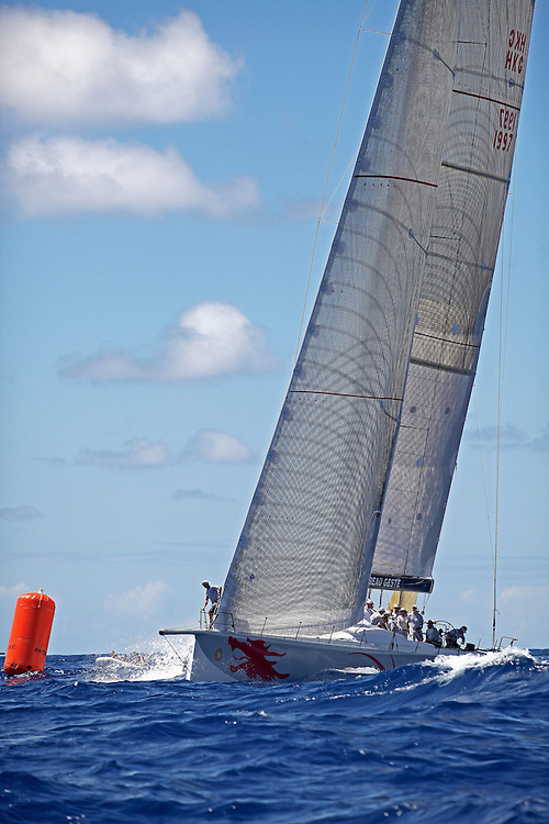 Top images from 2010. The start of the 2010 RORC Caribbean 600 Regatta off of Falmouth Harbour in Antigua.