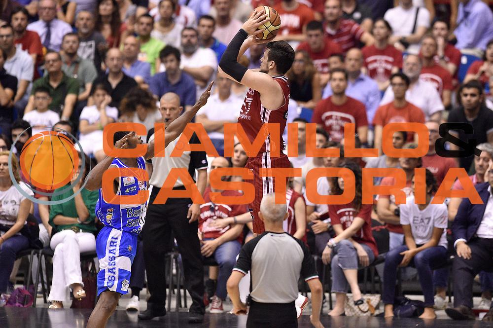 DESCRIZIONE : Milano Lega A 2014-15 EA7 Emporio Armani Milano vs Banco di Sardegna Sassari playoff Semifinale gara 7 <br /> GIOCATORE : Alessandro Gentile<br /> CATEGORIA : tiro three points controcampo sequenza ritardo<br /> SQUADRA : EA7 Emporio Armani Milano<br /> EVENTO : PlayOff Semifinale gara 7<br /> GARA : EA7 Emporio Armani Milano vs Banco di Sardegna SassariPlayOff Semifinale Gara 7<br /> DATA : 10/06/2015 <br /> SPORT : Pallacanestro <br /> AUTORE : Agenzia Ciamillo-Castoria/GiulioCiamillo<br /> Galleria : Lega Basket A 2014-2015 Fotonotizia : Milano Lega A 2014-15 EA7 Emporio Armani Milano vs Banco di Sardegna Sassari playoff Semifinale  gara 7 Predefinita :