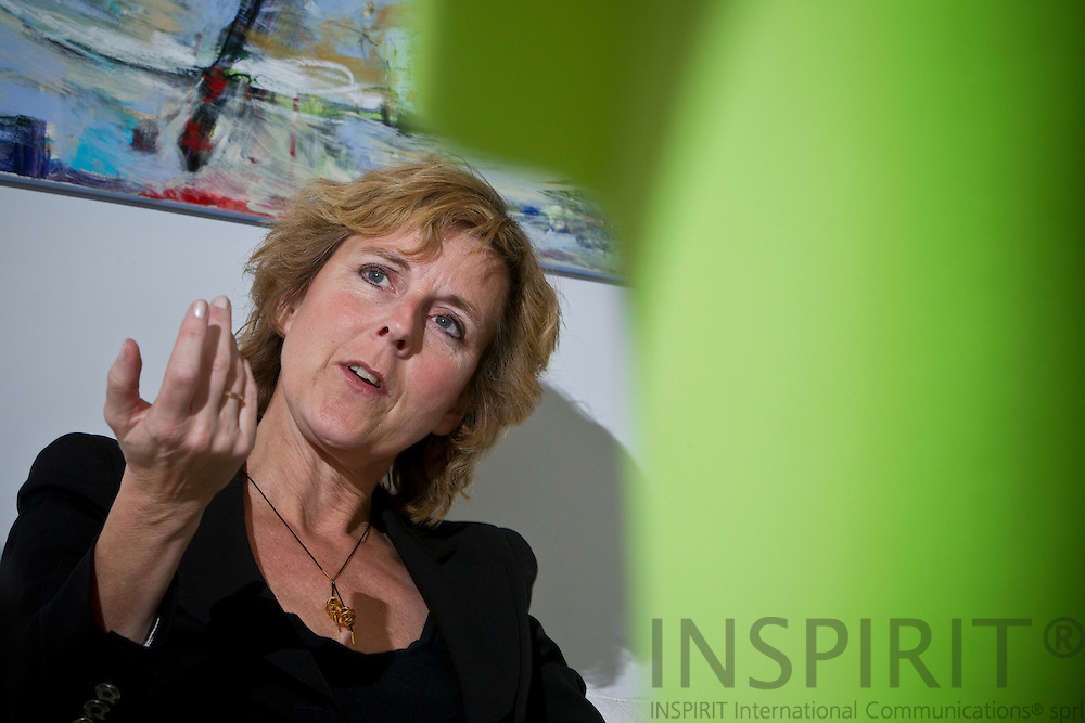 Connie Hedegaard, Commissioner for Climate during a interview in her office in Brussels Februar 3, 2011.  Photo: Erik Luntang/INSPIRIT Photo