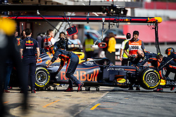 February 28, 2019 - Montmelo, Barcelona, Calatonia, Spain - Pierre Gasly of Aston Martin RedBull Racing RB15 seen in action during the second week F1 Test Days in Montmelo circuit, Catalonia, Spain. (Credit Image: © Javier Martinez De La Puente/SOPA Images via ZUMA Wire)