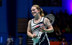 Jess Hopton of Bristol Jets  - Photo mandatory by-line: Robbie Stephenson/JMP - 07/11/2016 - BADMINTON - University of Derby - Derby, England - Team Derby v Bristol Jets - AJ Bell National Badminton League