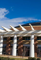 John Paul Jones Arena and 15,219 seat multi-purpose arena, home of the University of Virginia Cavaliers men's and women's basketball teams opened in 2006 at a cost over $132 million - University of Virginia, Charlottesville, VA, January 6, 2008.