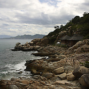 Rock villas at the Evason Hideaway in Nha Trang, Vietnam.
