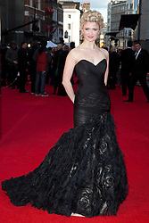 © Licensed to London News Pictures. 15/04/2012. Scarlett Strallen 2012 Olivier Awards Arrivals At The Royal Opera House, London, UK.  Photo credit : Richard Hurn / LNP