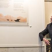 NLD/Amsterdam/20191210 - Rijmprent Ramsey Nasr onthuld, Remco Campert