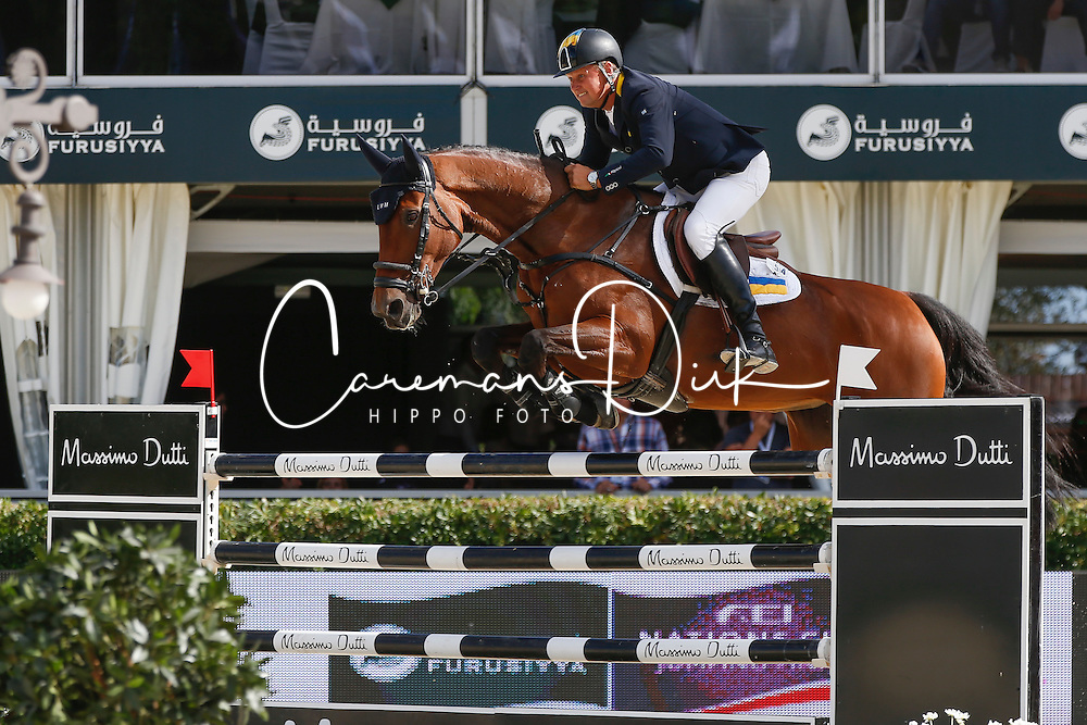 Kirchhoff Ulrich (UKR) - Carlina<br /> Furusiyya FEI Nations Cup Jumping Final <br /> CSIO Barcelona 2013<br /> © Dirk Caremans