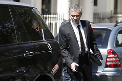 © Licensed to London News Pictures. 26/05/2016. London, UK.  Jose Mourinho leaves his London Home. Jose Mourinho is expected to become Manchester United's new manager this week. Photo credit: Peter Macdiarmid/LNP