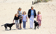 Wassenaar, 10-8-07-2015 <br /> <br /> Photo session at the beach with King Willem-Alexander and Queen Maxima and their daughters Princess Catharina-Amalia, Princess  Alexia and  Princess Ariane.<br /> <br /> <br /> Royalportraits Europe/Bernard Ruebsamen