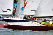 The colourful Daring fleet, Day 1 Skandia Cowes Week 2006