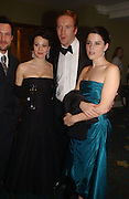 Helen McCrory, Damien Lewis and Neve Campbell. Laurence Oliver Awards, Hilton Hotel. 26 February 2006. ONE TIME USE ONLY - DO NOT ARCHIVE  © Copyright Photograph by Dafydd Jones 66 Stockwell Park Rd. London SW9 0DA Tel 020 7733 0108 www.dafjones.com