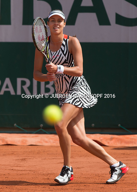 Ana Ivanovic (SRB)<br /> <br /> Tennis - French Open 2016 - Grand Slam ITF / ATP / WTA -  Roland Garros - Paris -  - France  - 28 May 2016.
