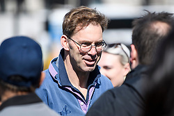 © Licensed to London News Pictures. 10/04/2019. London, UK. TOBIAS ELLWOOD MP is seen arriving at Parliament in Westminster. British Prime Minister THERESA MAY will travel to an EU summit later today where she hopes to negotiate an extension to the date the UK will leave the EU. Photo credit: Ben Cawthra/LNP