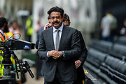 Owner of the Jacksonville Jaguars and Fulham F.C. Shahid Khan during the Premier League match between Fulham and Crystal Palace at Craven Cottage, London, England on 11 August 2018.