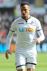 Martin Olsson of Swansea City - Mandatory by-line: Nizaam Jones/JMP - 14/04/2018 - FOOTBALL - Liberty Stadium - Swansea, Wales - Swansea City v Everton - Premier League