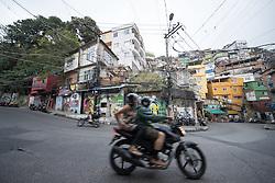 02.08.2016, Favela Rocinha, Rio de Janeiro, BRA, Rio 2016, Olympische Sommerspiele, Vorberichte, im Bild Strassenszene // Street scene during preparation for the Rio 2016 Olympic Summer Games at the Favela Rocinha in Rio de Janeiro, Brazil on 2016/08/02. EXPA Pictures © 2016, PhotoCredit: EXPA/ Johann Groder