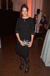 TRACEY EMIN at a dinner to celebrate Sir David Tang's 20 year patronage of the Royal Academy of Arts and the start of building work on the Burlington Gardens wing of the Royal Academy held at 6 Burlington Gardens, London on 26th October 2015.