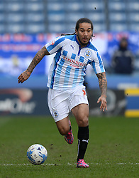 Huddersfield Town's Sean Scannell in action - Photo mandatory by-line: Richard Martin-Roberts/JMP - Mobile: 07966 386802 - 21/03/2015 - SPORT - Football - Huddersfield - John Smith's Stadium - Huddersfield Town v Fulham - Sky Bet Championship