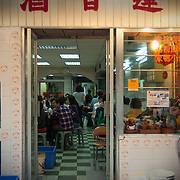 Noodle house in the fishing village of Tai O, Lantau Island.