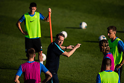 Igor Benedejcic assistant coach during practice session of Slovenian national football team in national football center in Brdo, 2nd of September, 2019, NNC Brdo. Photo by Grega Valancic / Sportida