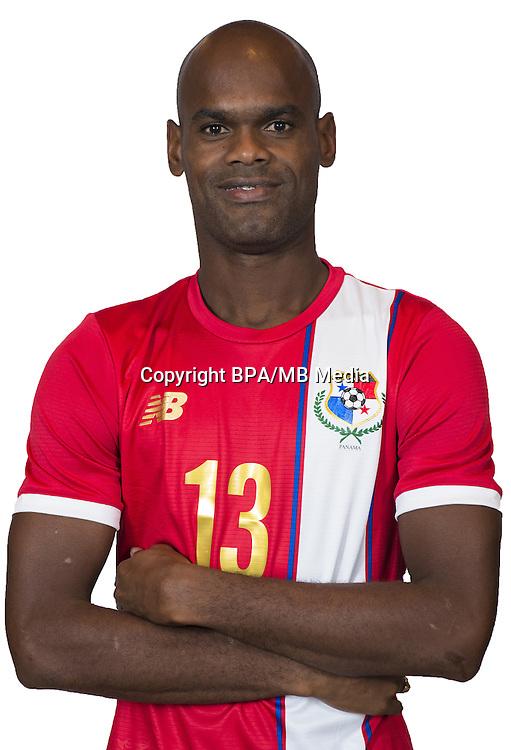 Football Conmebol_Concacaf - <br />Copa America Centenario Usa 2016 - <br />Panama National Team - Group D - <br />Adolfo Abdiel Machado