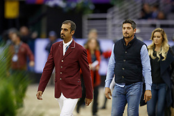 SheikAl Thani Ali, QAT<br /> Round 2<br /> Longines FEI World Cup Jumping, Omaha 2017 <br /> © Hippo Foto - Dirk Caremans<br /> 01/04/2017