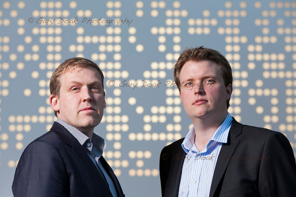 The Data Lab.<br /> David Richardson, Chief Operating Officer (right) with Neil Logan, Chief Technology Officer, Lockheed Martin IS&amp;GS (left)