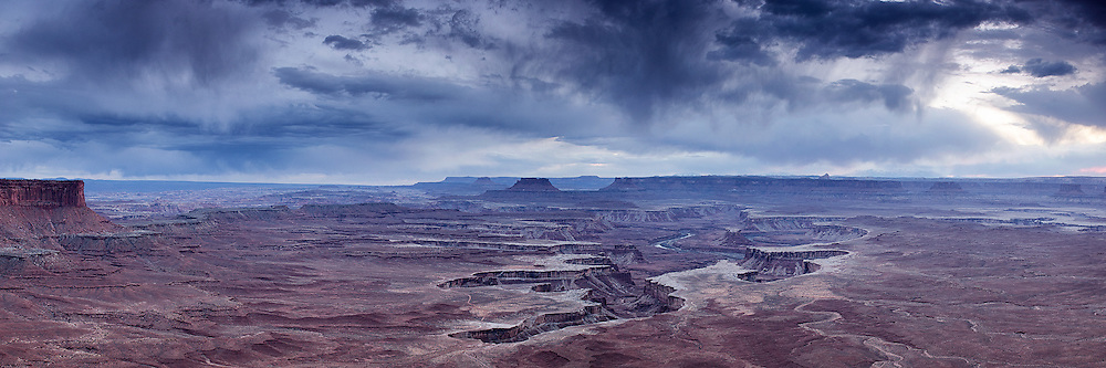 Green River outlook at the , Canyonlands National Park,Utah. It is extremely impressive how massive this view is.