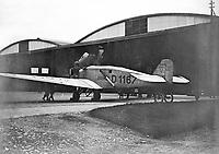 Transatlantic Flights 1930-1934. 'The Bremen', Baldonnel. 1928. (Partof the Independent Ireland Newspapers/NLI Collection)