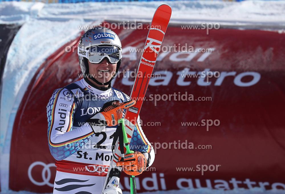 13.02.2017, St. Moritz, SUI, FIS Weltmeisterschaften Ski Alpin, St. Moritz 2017, alpine Kombination, Herren, Abfahrt, im Bild Thomas Dressen (GER) // Thomas Dressen of Germany reacts after his run of downhill for the men's Alpine combination of the FIS Ski World Championships 2017. St. Moritz, Switzerland on 2017/02/13. EXPA Pictures &copy; 2017, PhotoCredit: EXPA/ Sammy Minkoff<br /> <br /> *****ATTENTION - OUT of GER*****