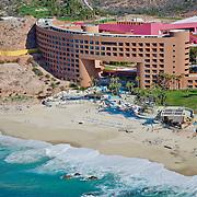 Aerial view of hotel Westin Los Cabos. San Jose del Cabo. Baja California Sur, Mexico.