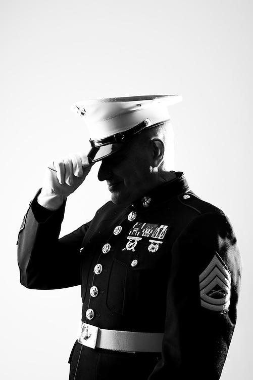 Scott Orton<br /> Marine Corps<br /> Gunnery Sergeant<br /> II MEF TRAP<br /> 1986 - 2012<br /> OIF<br /> <br /> Steven Kudzma<br /> Coast Guard<br /> E-2<br /> Seaman<br /> Nov. 1985 - Nov. 1987<br /> <br /> Steven Kudzma, Jr. <br /> Coast Guard<br /> E-4<br /> MK<br /> Feb. 2007 - Present<br /> <br /> WaterFire Event<br /> Veterans Portrait Project<br /> Providence, RI