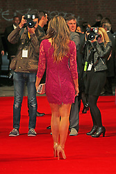 © Licensed to London News Pictures. 07/10/2014, UK. Elizabeth Hurley, The Rewrite - European film premiere, Odeon Kensington, London UK, 07 October 2014. Photo credit : Richard Goldschmidt/Piqtured/LNP